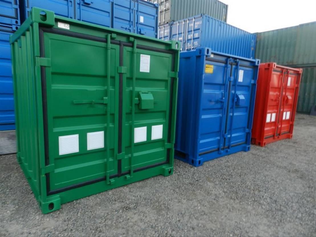 dry standaard zeecontainer Diversen 6ft - 8ft - 10ft Opslagcontainers