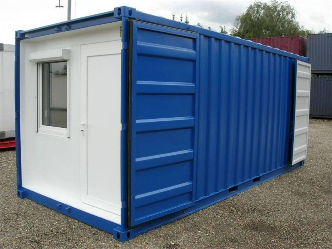dry standaard zeecontainer Diversen Combi 20ft - Extra Beveiligde