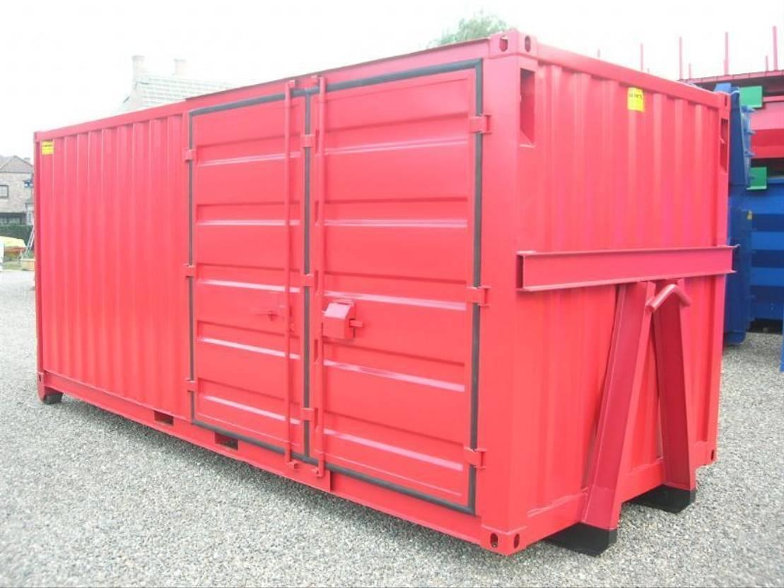 dry standaard zeecontainer Diversen Combi 20ft op slede