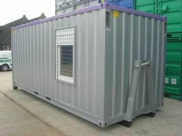 dry standaard zeecontainer Combi 20ft - Doorsteekruimte