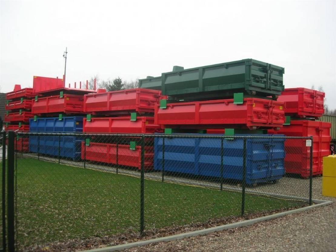 open top zeecontainer Diversen 8m³