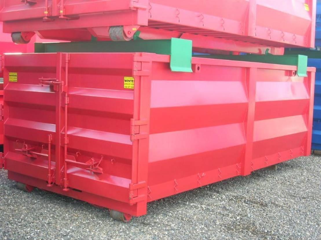open top zeecontainer Diversen 20m³