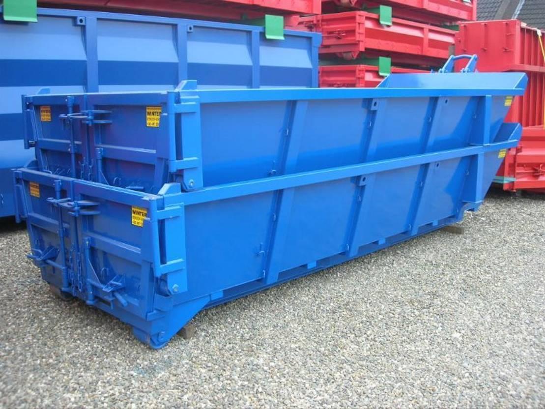 open top zeecontainer Diversen STAPELBARE AFZETCONTAINERS 8m³