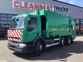 vuilniswagen vrachtwagen Renault Premium 320 26 Manual 20m3 2004