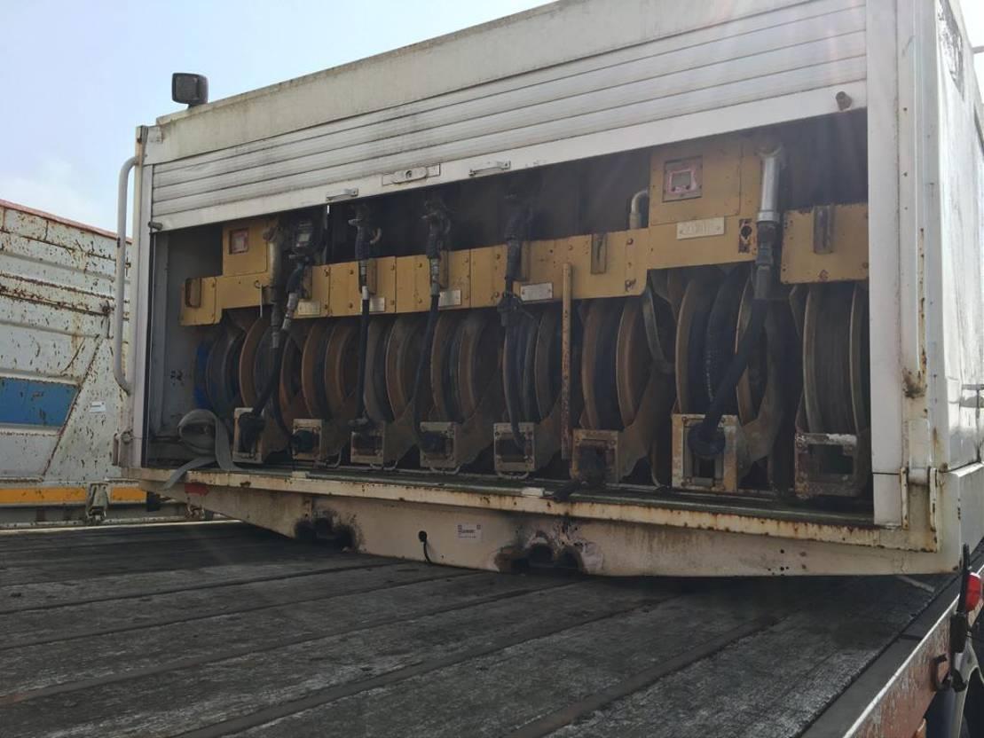 Opbouw vrachtwagen onderdeel Diversen Occ Opbouw Service wagen