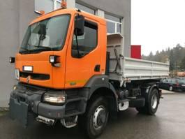 kipper vrachtwagen > 7.5 t Renault Kerax 370 4X4 Tipper