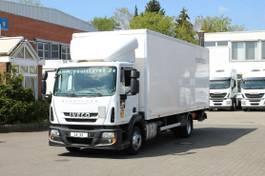 bakwagen vrachtwagen Iveco EuroCargo ML ML120E19 EURO 6 Koffer 7,5m/Klima /LBW 2014