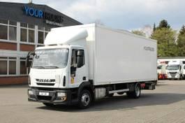 bakwagen vrachtwagen Iveco EuroCargo ML ML120E19 EURO 6 Koffer 7,5m/Klima /LBW 2015