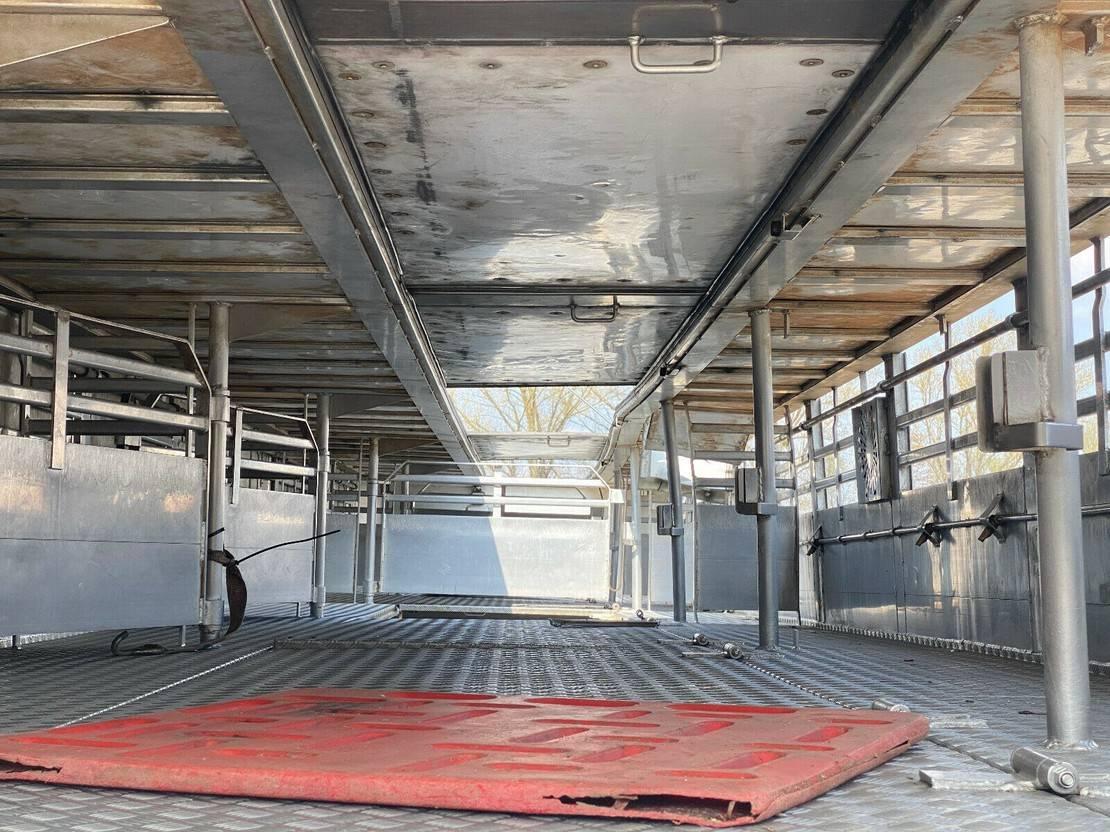 vee oplegger Lecitrailer 3E20 Tier- Viehtransport 3 Achse 3 Stock 2015