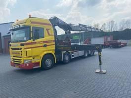 kraanwagen Scania G 440 8 X 2 - HMF ODIN 6020 2011