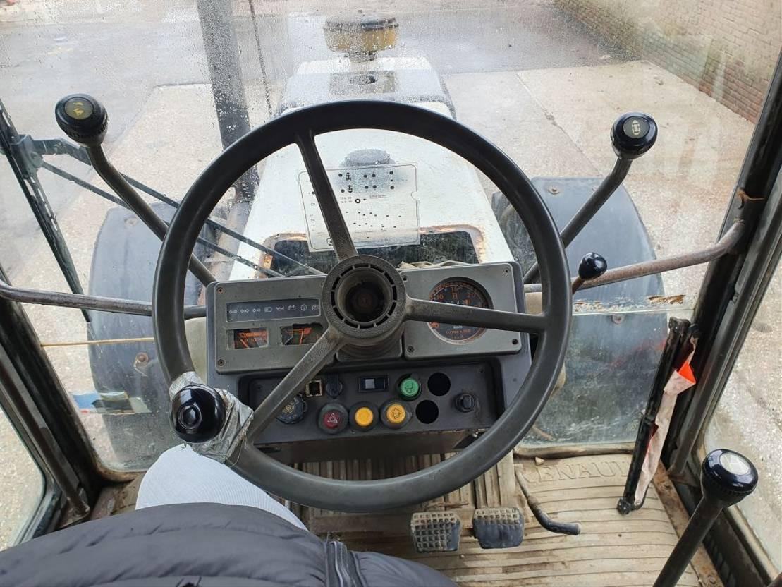 standaard tractor landbouw Renault R7912T styx & aanhanger 1991