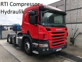 standaard trekker Scania P380 p 380 , RTI compressor , dubbel hydraulik systeem , 500.000 km 2007