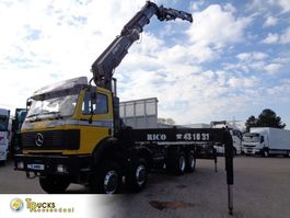 kraanwagen Mercedes-Benz SK 3535 Manual + HIAB 550-6-JIB 4 1998