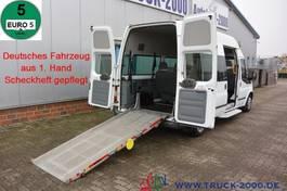 minivan - personenbus Ford 125T300 9 Sitze & Rollstuhlrampe 1. Hand 2013