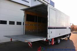 gesloten bestelwagen Iveco 75E18 EEV Seitentür LBW 1.5 to 1.Hand Scheckheft 2012