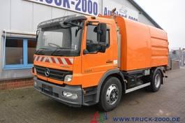 Veegmachine vrachtwagen Mercedes-Benz Atego 1324 HSW Explorer 6 Hecksauger Vorsprühen 2009