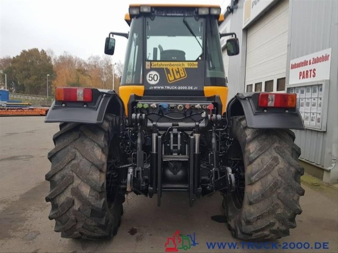 standaard tractor landbouw JCB 2135 4WS 4x4 Fastrack Dücker TeleAusleger 1.Hand 2003