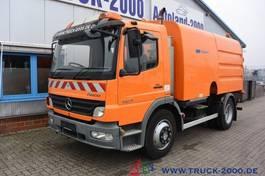 Veegmachine vrachtwagen Mercedes-Benz Atego 1324 HSW Explorer 6 Hecksauger Vorsprühen 2010