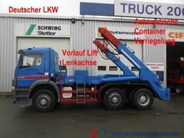 containersysteem vrachtwagen Mercedes-Benz 2528 Tele autom. Verriegelung Deutscher LKW 2004