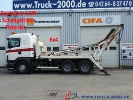 containersysteem vrachtwagen Scania G480 164 6x4 V8 Tele Retarder*Schaltgetriebe 2004
