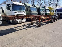 container chassis oplegger Titan OT32S2 1984