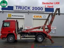 containersysteem vrachtwagen Mercedes-Benz 1841 Meiller Tele 1. Hand Scheckheft gepflegt 2007