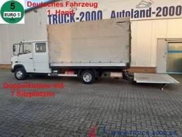 huifzeil bedrijfswagen Mercedes-Benz DoKa 7 Sitze MBB LBW 1 to Standheizung 2011