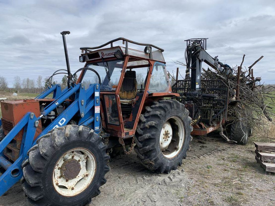 overige oogstmachines Fiat Agro 890 1989