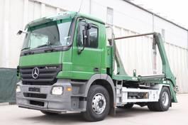 containersysteem vrachtwagen Mercedes-Benz Actros 1836 4x2 E5 Analog Tacho Blatt Luft AHK 2005