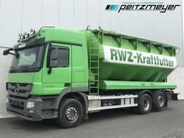 tankwagen vrachtwagen Mercedes-Benz 07.2022 LL Heitling Silo 31 m³ Schiebedeckel, 2013