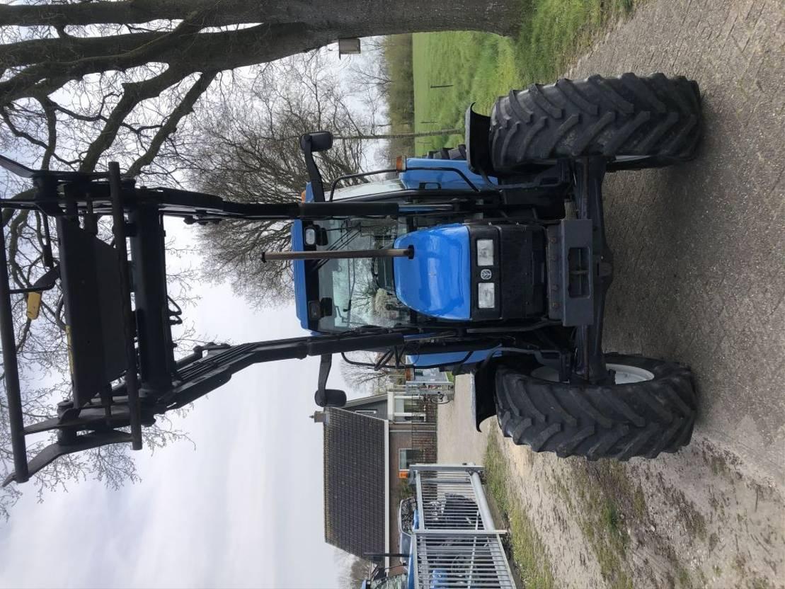 standaard tractor landbouw New Holland Ts 90 SL 1999