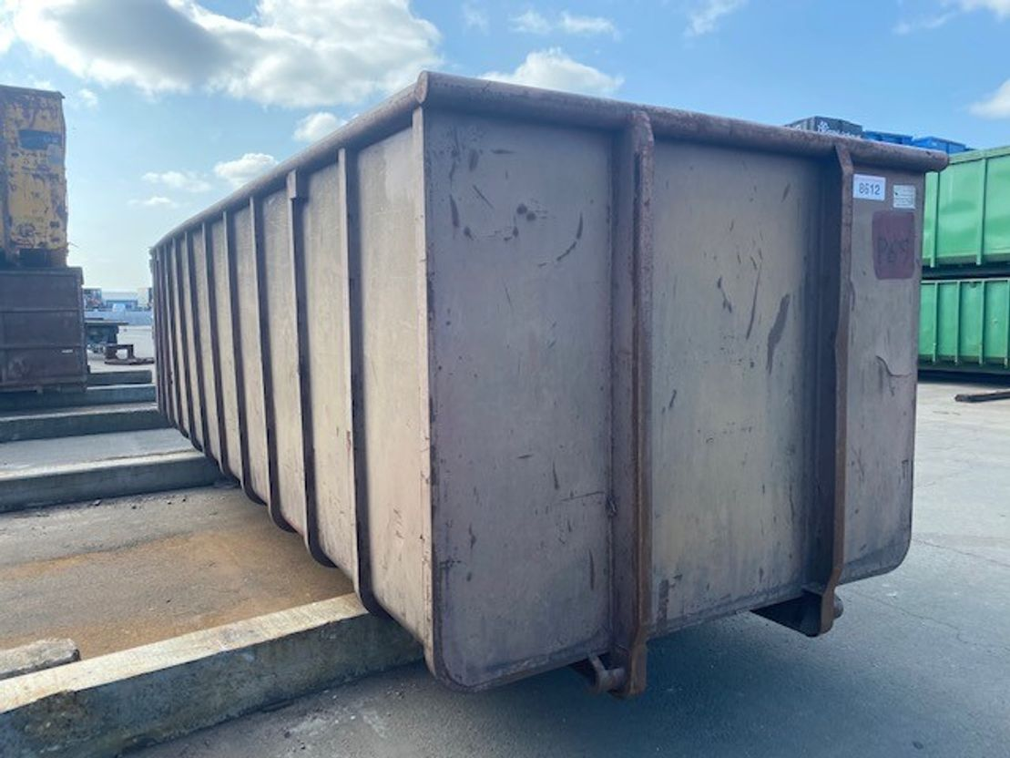 open top zeecontainer Vernooy Gebruikte 30m3 Afzetcontainer 8612