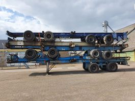container chassis oplegger Van Hool Steelspring - Widespread - Dubble tires 1990