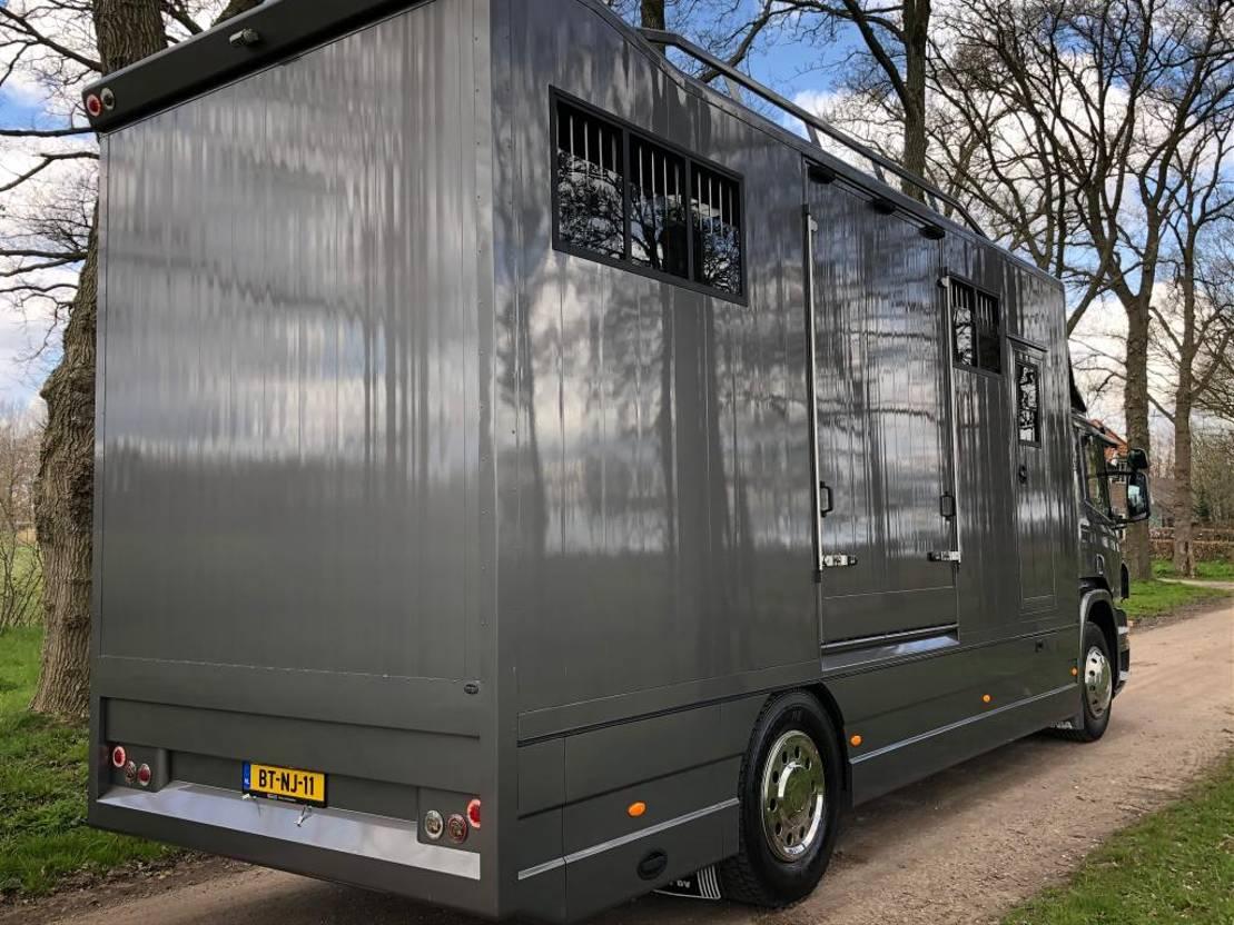 paardenvrachtwagen Scania P230 , Paardenvrachtwagen , Horse Truck , TOP staat , MARGE PRIJS , 2007
