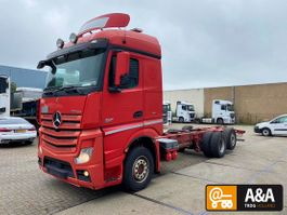 chassis cabine vrachtwagen Mercedes-Benz Actros 2551 6x2 Blatt/Luft 2013 2013