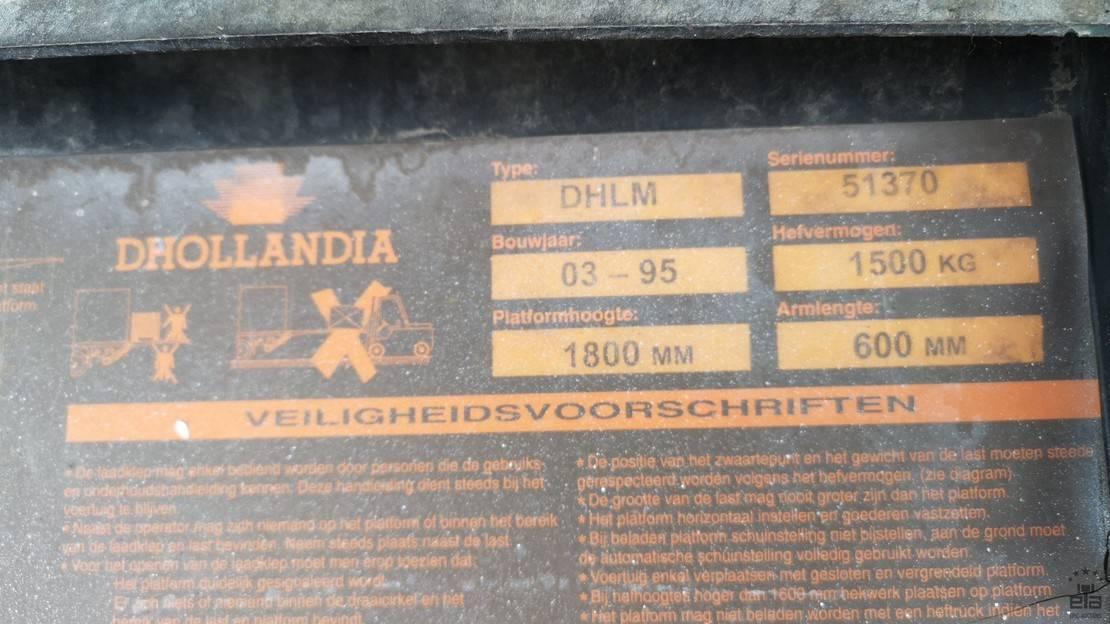autotransporter oplegger Groenewegen DRO-10-10B 1995