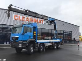 kraanwagen MAN TGS 41 8x8 HMF 60 ton/meter laadkraan 2013