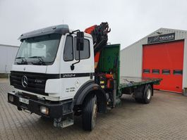 open laadbak vrachtwagen Mercedes-Benz 2024 Manual / Steelsuspention  + PK16000 1998