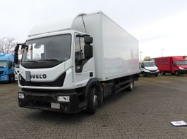 bakwagen vrachtwagen Iveco EuroCargo ML ML140E28R/P Koffer/LBW, AHK, Euro6 2017