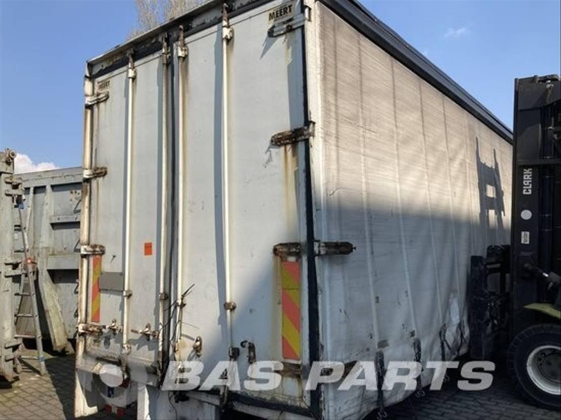 Opbouw vrachtwagen onderdeel Diversen Chassis opbouw diverse Meert 2008