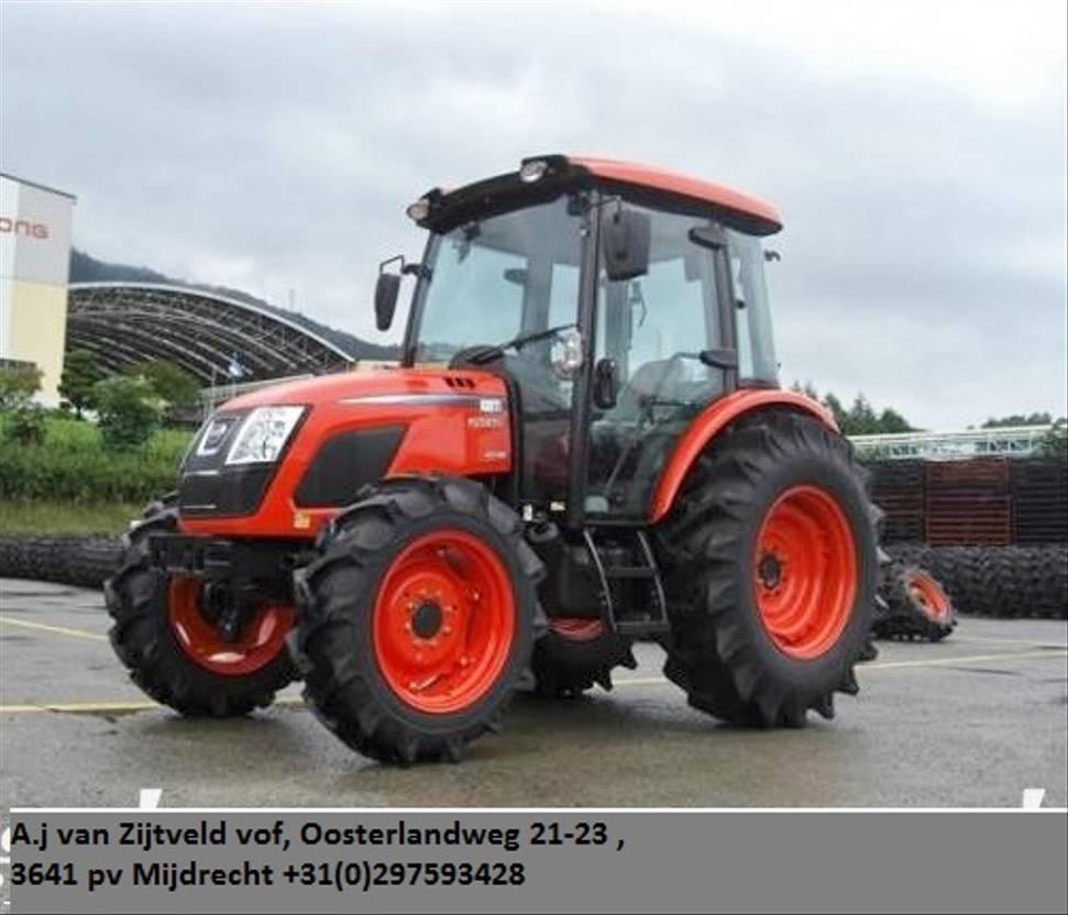 standaard tractor landbouw Kioti RX7330 PC 73pk 4wd tractor cabine Nieuw AKTIE