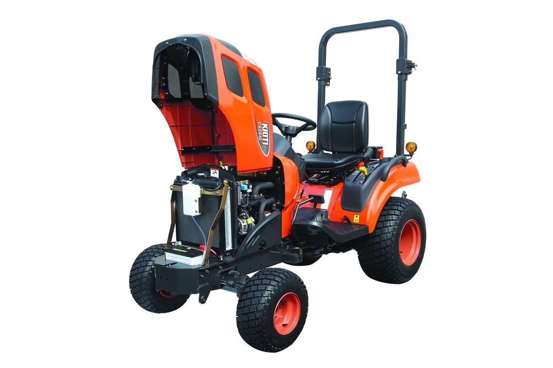 standaard tractor landbouw Kioti nieuw Kioti CS2610 4wd hydrostaat tractor nieuw actie !! 2020