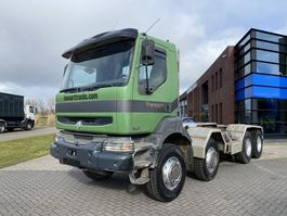 chassis cabine vrachtwagen Renault Kerax 420 Chassis / 8x4 / Full Steel / Manual / 90% Tires 2001