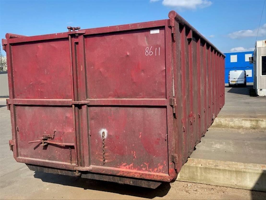 open top zeecontainer Vernooy Gebruikte 30m3 Afzetcontainer 8611