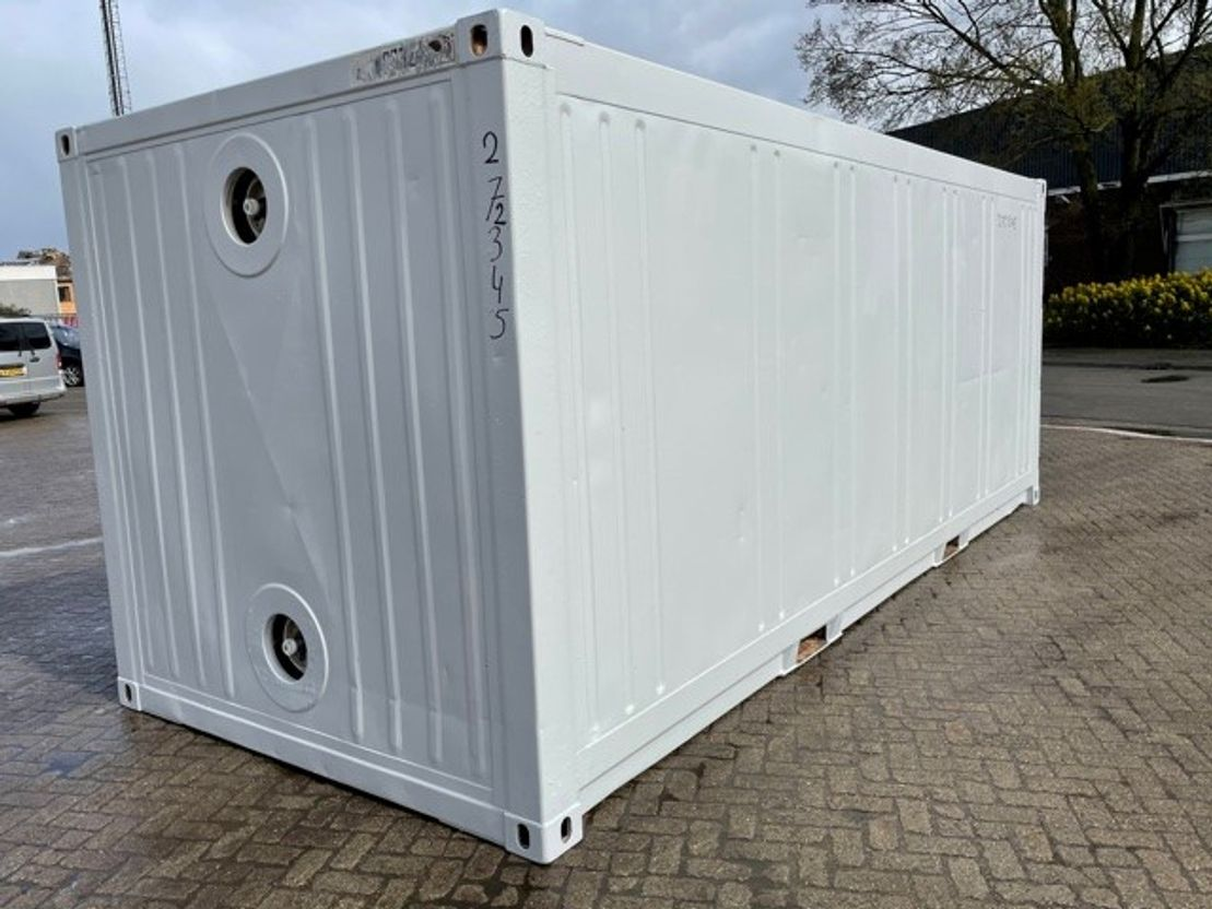 geisoleerde zeecontainer Vernooy 20ft geisoleerde zeecontainer Z273245