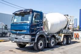 betonmixer vrachtwagen Renault Kerax 420 DCI+ BETON MIXER STETTER 2006