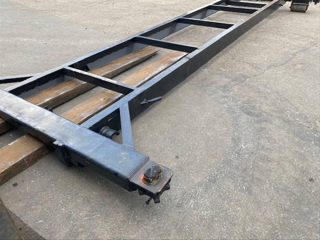 flat rack zeecontainer Vernooy Gebruikte 20ft kabelframe Gv0280