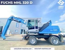 overslagkraan Fuchs MHL 320 D 2011