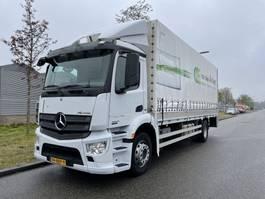 huifzeil vrachtwagen Mercedes-Benz Antos 1824 euro 6 bj 2013 2013