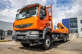 platform vrachtwagen Renault Kerax 370 DXI+Plateau 7m+PK16502/3 ( Remote C.) 2009
